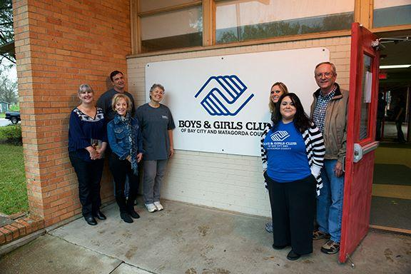 TDECU Volunteers and Brazoria Area Boys & Girls Club Staff