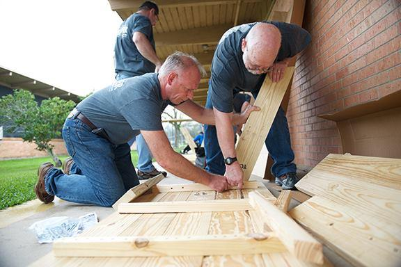 TDECU Employees Building Shelving
